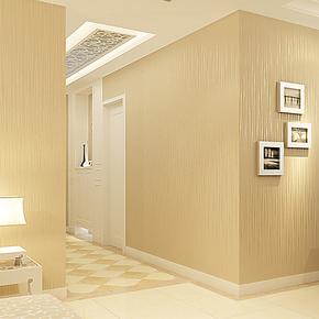 慕勒壁纸 简约现代 抽象条纹 客厅珠光底 高档无纺布墙纸卧室满铺
