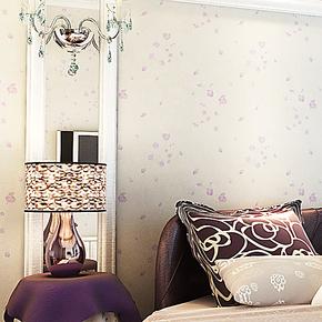 雁归来 墙纸 浪漫飞舞樱花 日式田园 壁纸 卧室 婚房 背景墙