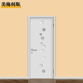 正品烤漆门 实木复合门 木门 室内套装门 厨卫门 3套包安装 K32
