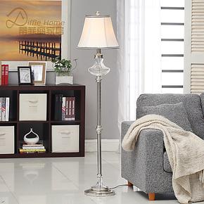 蒂菲丽 现代简约落地灯欧式水晶创意时尚宜家客厅书房卧室地灯5折