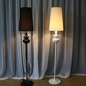 逸窝 现代简约客厅落地台灯 创意时尚卧室灯书房灯床头灯具灯饰