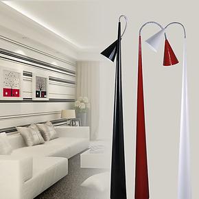 逸窝 简约现代客厅落地台灯时尚卧室床头灯具创意书房万向落地灯
