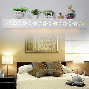亮节家居1.2米创意简约宜家灯饰LED时尚雕花客厅卧室书房壁灯包邮