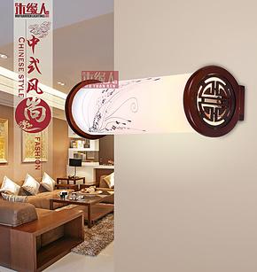 中式镜前灯创意现代时尚简约镜前灯仿古壁灯古典壁灯卧室床头壁灯