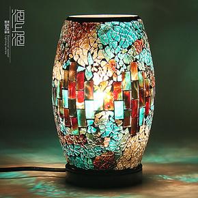 【海上海】简约个性创意卧室客厅床头台灯中式时尚水晶灯饰