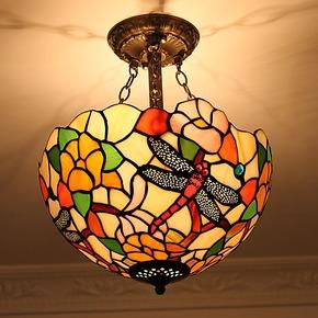 欧式婚房复古暖色艺术装修过道阳台灯创意空中花园走廊吊灯1243CW