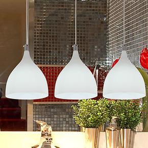 现代简约创意吊灯餐厅灯楼梯吧台创意三头意大利灯具 丰耀 DCD012