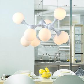 胜祺餐厅吊灯艺术吊灯现代简约吊灯创意客厅玻璃吊灯饰灯具SD0018