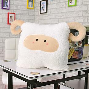 包邮卡通十二12星座抱枕暖手捂靠垫创意沙发靠枕 diy白羊座