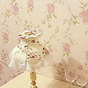 浪漫温馨小花壁纸 美式田园风格客厅卧室墙纸满铺墙 纸壁纸特价卷