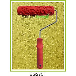 液体壁纸滚花液体墙纸模具硅藻泥压花滚筒液态墙纸滚花模具EG275