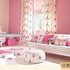 自粘墙纸即时贴家居贴壁纸特价广告纸纯色温馨粉红女生卧室装修