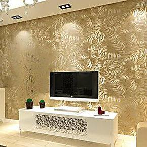 特价 现代简约电视背景墙纸壁纸 客厅 卧室温馨满铺 床头背景墙纸
