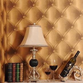斯可馨奢华欧式软包墙纸卧室床头客厅沙发电视背景墙壁纸特价包邮