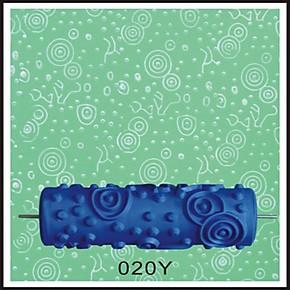 020Y液体壁纸滚花滚筒印花墙漆滚筒液体墙纸滚花模具油漆花纹滚筒