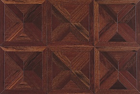 柏尔地板 强化地板 地热地板 拼花系列之红菠萝