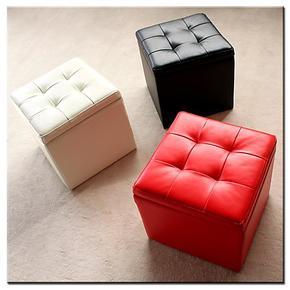 特价时尚试换鞋凳储物收纳凳方格凳 沙发长凳休息凳脚凳床尾凳