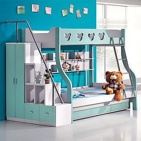 包物流 儿童双层床 儿童家具 上下床 儿童床 高低床 组合床子母床