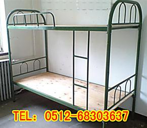 学校双层床 高低铁床 员工双层床公寓床 上下铺床校用设备 金属床