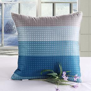 纤荷纯棉抱枕被 办公室沙发汽车用休闲被家居 靠垫被子两用全棉
