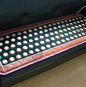 玉赭石混合沙发垫 玉石沙发垫 沙发垫 玉石床垫 保健床垫