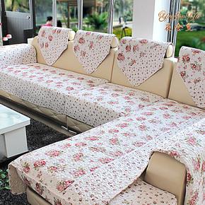 韩式田园风格沙发垫坐垫布艺沙发套沙发罩沙发盖沙发垫子特价包邮