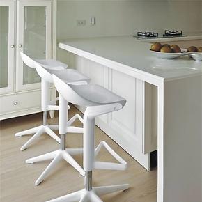 汤勺吧椅 吧台椅时尚升降 欧式创意酒吧椅 吧台升降椅 家庭吧台椅