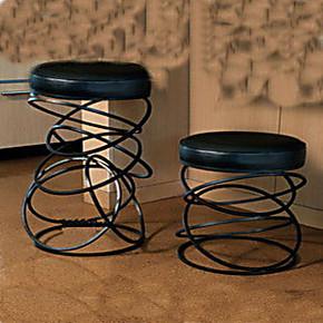 天天特价/铁艺酒吧椅.铁艺吧台椅 化妆椅 吧椅 圆凳 换鞋凳 椅子
