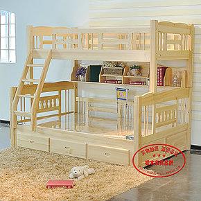 热卖精品 田园实木 松木双层床 儿童双层床 上下床 子母床 高低床