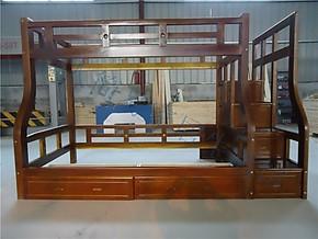 三包到家宜家松木儿童床实木双层床橡木子母床高低床上下床母子床