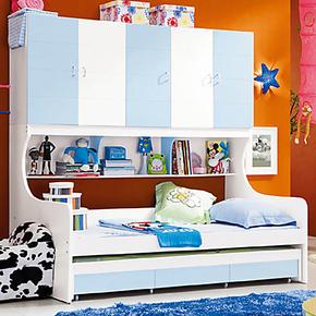 儿童家具组合儿童上下床/高低子母床/小户型卧室套房组合/儿童床