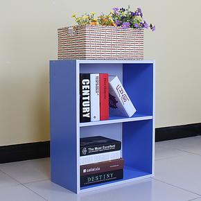 乐思家简易儿童书架韩式家具书柜书架书橱壁架自由组合储物柜Y012