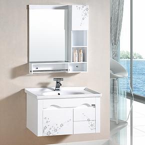 特价促销 卫生间pvc浴室柜组合 洗脸盆洗手盆 整体卫浴柜 面盆柜
