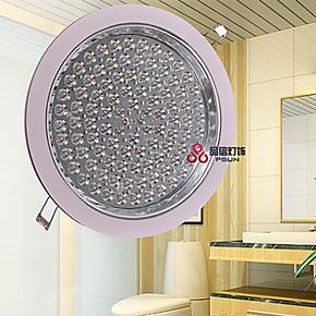 圆形节能环保LED明暗装防雾厨房灯 卫生间灯 衣帽间洗漱间吸顶灯