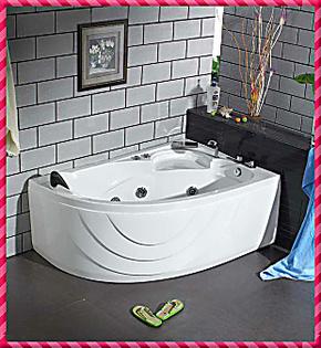 双人/1.5米/按摩浴缸浴盆/按摩缸/压克力/亚克力/冲浪按摩缸1015