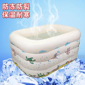 大号加厚婴儿游泳池充气浴缸保温 儿童宝宝游泳池洗澡桶超大家庭