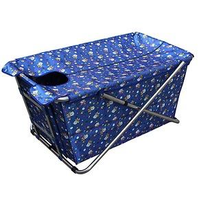 贝特不锈钢折叠浴桶充气浴缸熏蒸汽箱家用浴桶 桑拿浴箱 成人浴盆