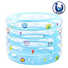 曼波鱼屋 正品包邮 婴幼儿圆形充气浴缸 小号游泳池 省水家用正品