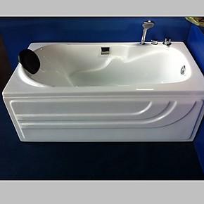 欧美琦品牌亚克力浴缸,五件套,健康浴盆,1.2米1.3米迷你小浴缸
