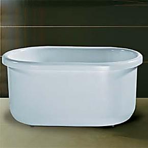 欧美琦品牌古典缸,亚克力浴缸 独立式浴缸1.2米,美容迷你小浴缸