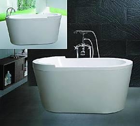 【瑞仕达艺术独立摆放浴缸】亚克力浴盆迷你小浴缸儿童浴缸盆特价