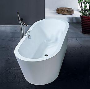 欧式 浴缸/独立式/亚克力/压克力/1.7米/双人/椭圆形浴缸