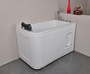 浴缸亚克力1.2米浴缸 坐缸泡澡不锈钢支架小浴缸 2613 正品特价