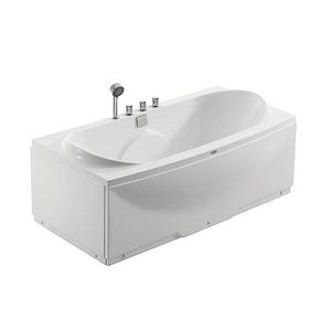 Suncoo尚高卫浴1.5米纯亚克力单人时尚豪华浴缸裙边缸SY385