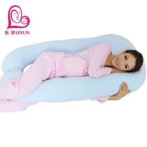 乐孕孕妇枕头护腰枕侧卧枕侧睡枕用品靠枕靠垫U型睡枕多功能抱枕