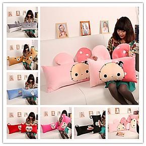 毛绒玩具机器猫抱枕龙猫大嘴猴抱枕大号单人枕双人枕卡通抱枕头
