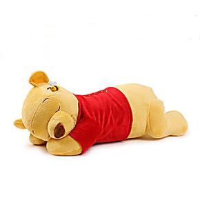 包邮迪士尼趴趴维尼熊公仔睡熊抱枕小熊布娃娃玩偶儿童枕头小礼物