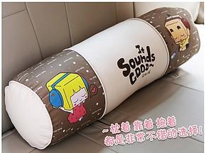 特价 卡通迷你抱枕男朋友 可爱纯棉糖果枕长条抱枕圆柱形创意礼物