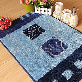 新款 简易腈纶海星贝壳地毯客厅地垫卧室门垫浴室防滑垫厨房脚垫