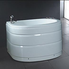 亚克力单人浴缸小卫生间圆弧形浴缸小型浴盆性价比超箭牌法恩莎